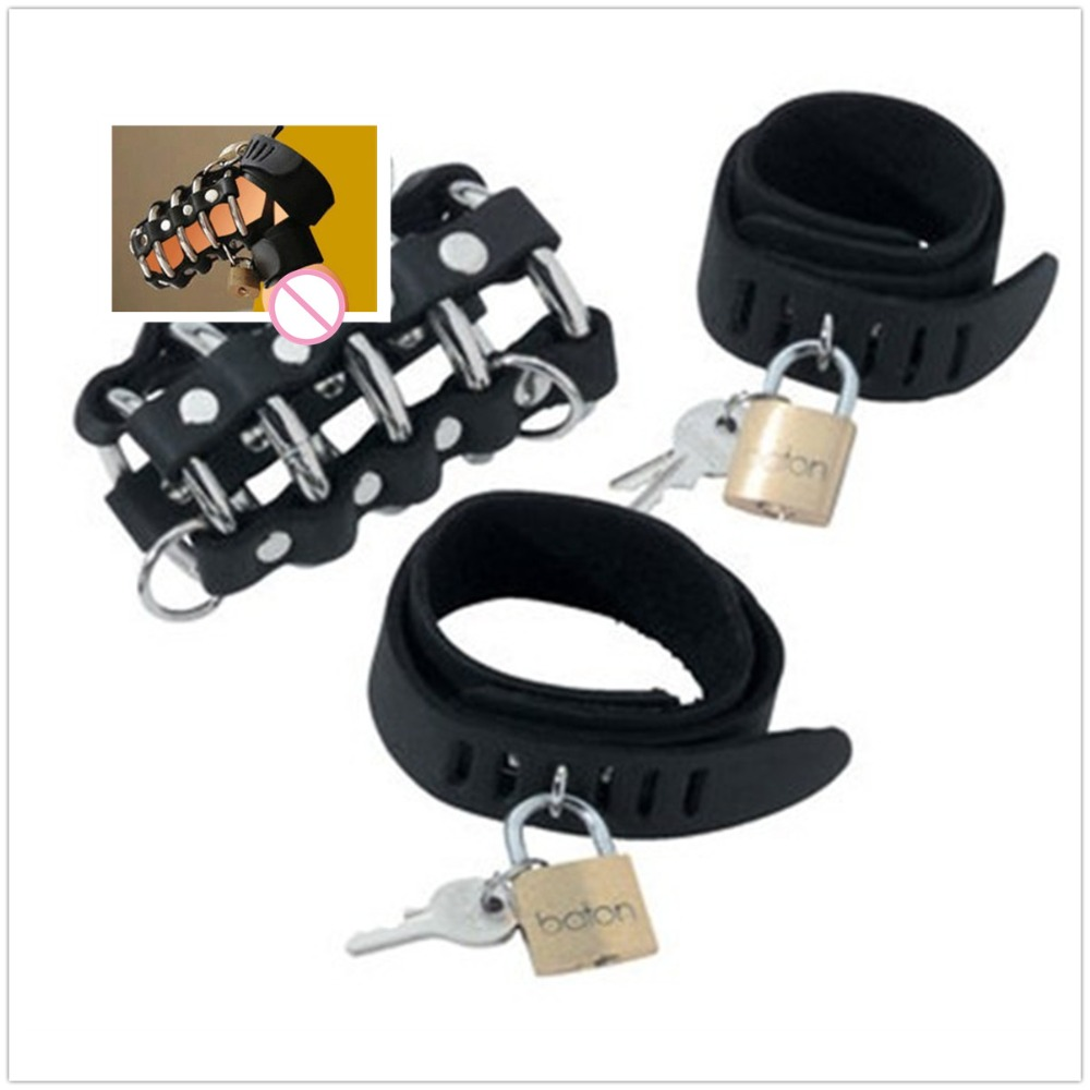 Male Erotic toys PU Adjustable Leather Penis Straps Rings Belt Panties with Cock Ring Chastity Device for Gay men's strings