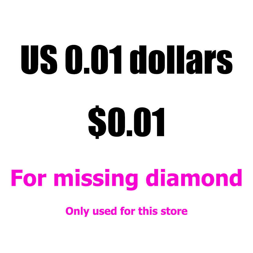 US 0.01 dollars the square or round missing stone used forstore only,this link only used for this store WG1164