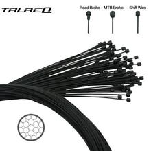 1 PC с покрытием из проволоки для велосипеда MTB дорожный велосипед переключения передач тормозного спереди и сзади переключатель Трос стояночного тормоза 2100 мм 1550 мм 1700 мм 1100 мм