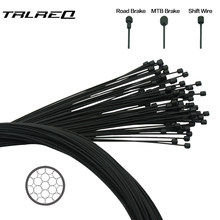1pc Coated Wire For Bicycle MTB Road Bike Shifter Brake Front Rear Derailleur Brake Cable 2100mm 1550mm 1700mm 1100mm(China)