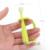 Bebé cepillo de dientes 1 unids seguro suave mordedor mordedores dientes niños silicona goma de la goma claro limpiador Wakodo japón polaco Wakodo Nico Pika