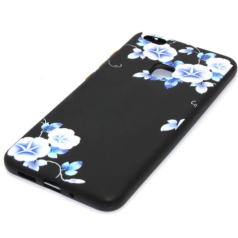 3D Relief flower silicone huawei P10 lite (19)