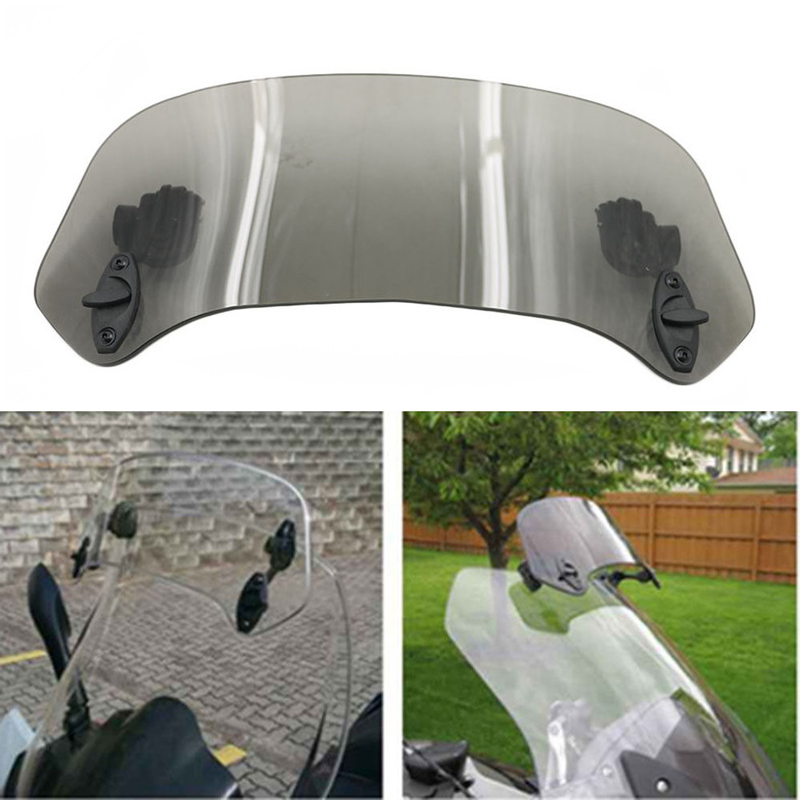 Risen Adjustable Windscreen Windshield Spoiler Set For KYMCO Xciting 250 300 400 AK550 DL250 DL650 DL1000