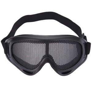 Hunting Metal Mesh Goggles Gla