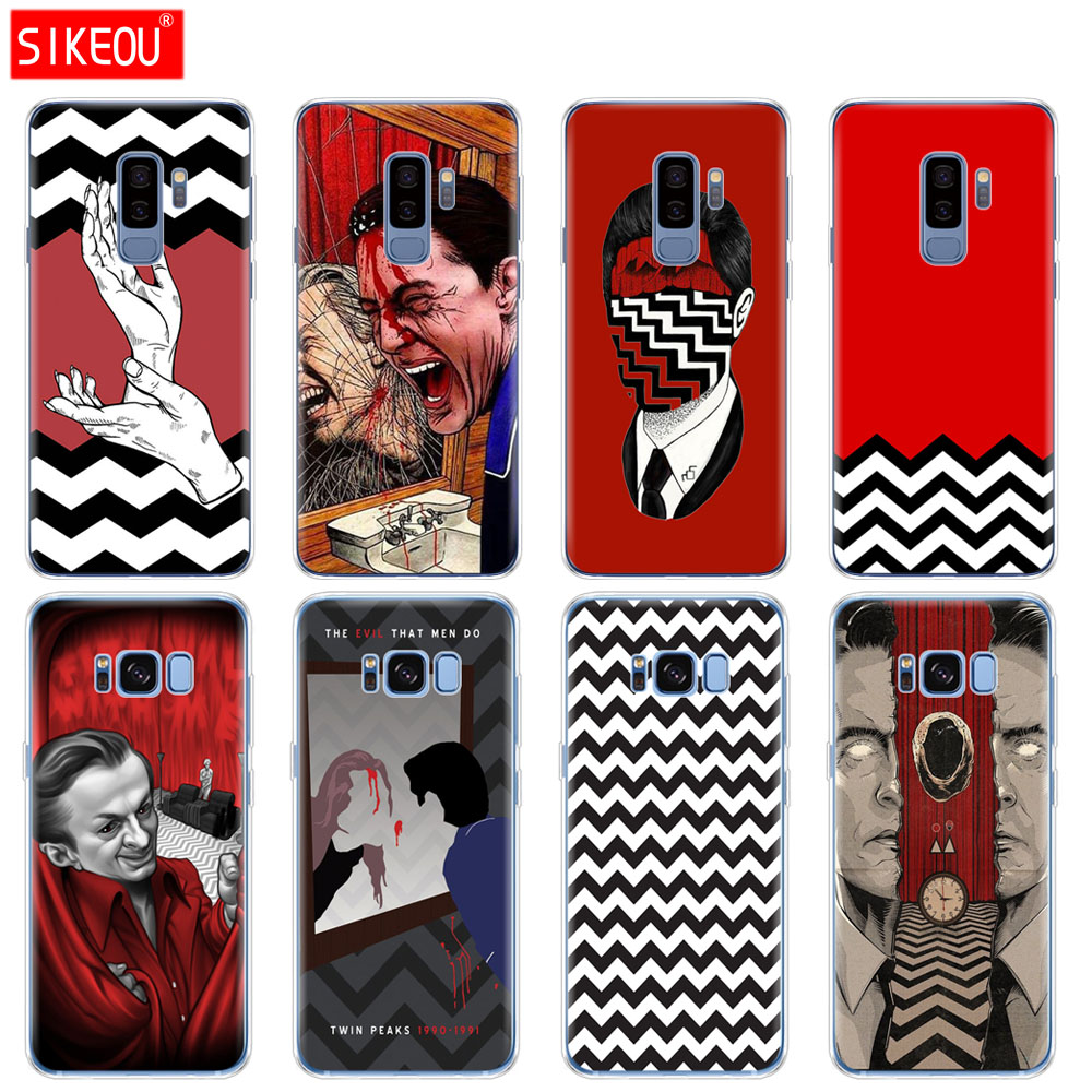 silicone case for Samsung Galaxy S9 S8 S7 S6 edge S5 S4 S3 PLUS phone cover Twin Peaks Fire Walk With Me