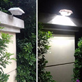 Jiawen 150LM 4 LED de energia Solar Sensor de Movimento PIR lâmpada LED Ao Ar Livre, Cerca Do Jardim Quintal Parede Caminho Segurança Série Lâmpadas à prova d' água