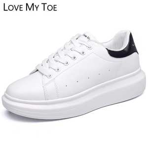 b1a14468748 LOVE MY TOE 2018 Casual Sport Platform Ladies Trainers