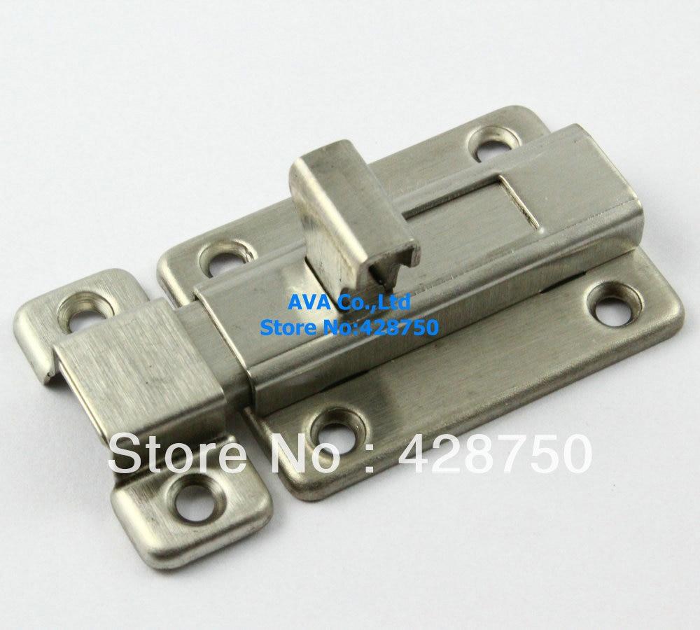 Buy stainless steel door bolt sliding for Door bolt lock