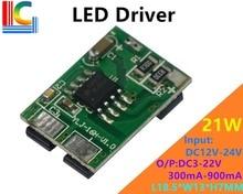 цена на 300mA 450mA 600mA 700mA 800mA 900mA DC to DC Led Driver 3W 6W 9W 18W 21W CAR Lights Power Supply 12V 24V PWM Dimming Transformer