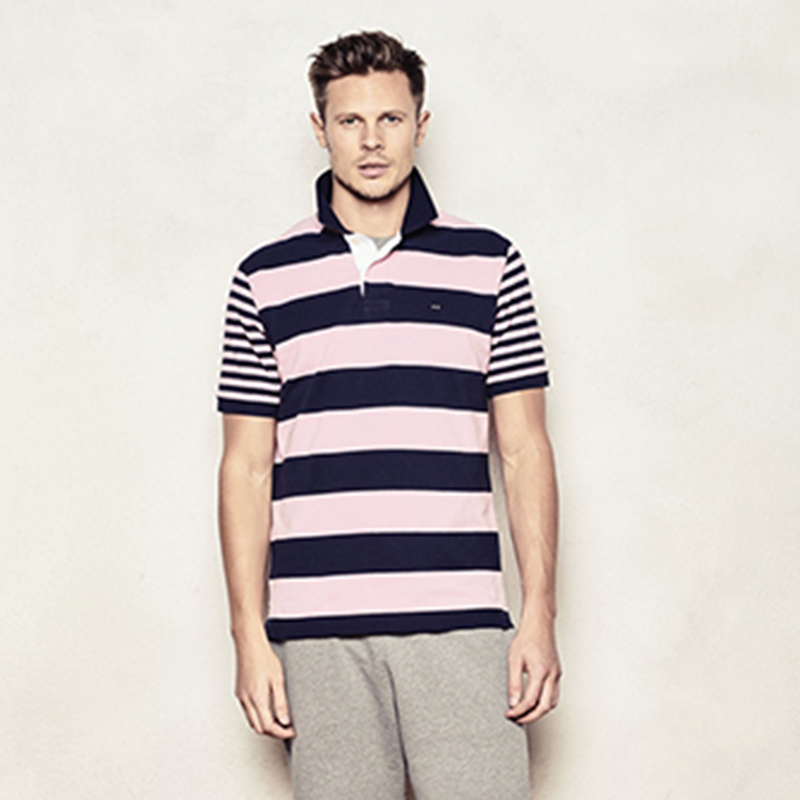 2019 NEW MENS   POLO   SHIRT STRIPED SUMMER COLLECTION EDEN SERIGE PARK FRANCE LUXURY BRAND NEW PATTERN AND EMBROIDERY SHORT SLEEVE