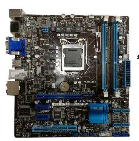 Original Used Asus P8H61-M PRO/CM6630-8/DP_MB Desktop Motherboard H61 USB 3.0 HDMI Socket LGA 1155 i3 i5 i7 DDR3 16G все цены