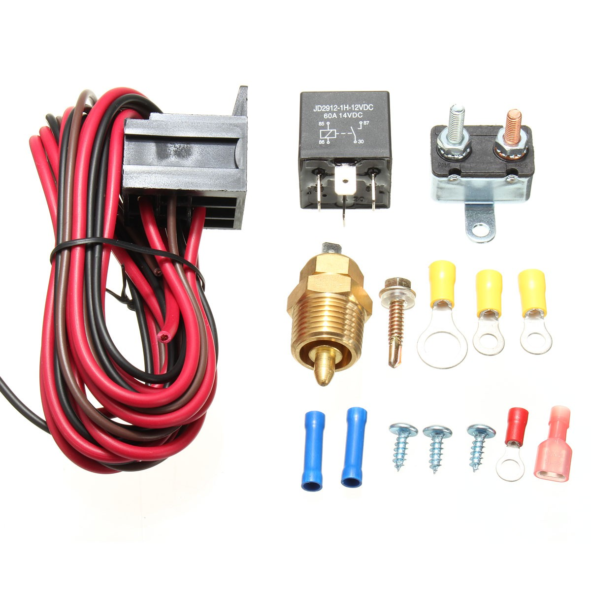 175185 Degree Engine Cooling Fan Thermostat Temperature Switch