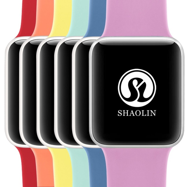 Soft Silicone Sports Band for Apple Watch Series 1 Series 2 Series 3 , 42MM Rubber Watchband for Apple Watch Band