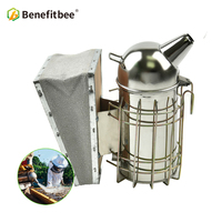 Benefitbee Beekeeping Smoker Small Bee Smoker For Bee hive Smoker Beekeeping Tools Equipment Beekeeper Stainless Steel Material