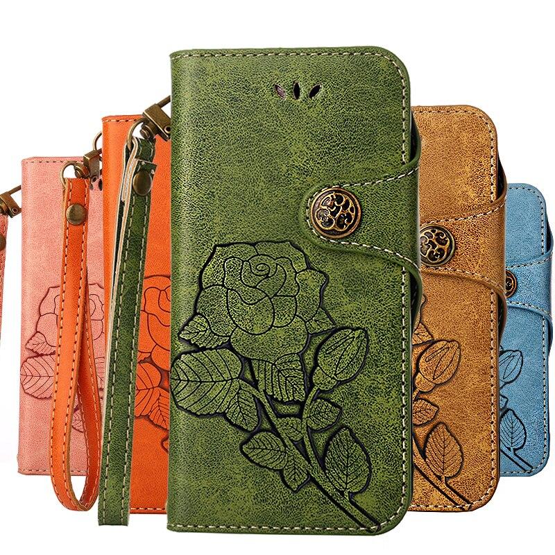Dower Me For iPhone X 8 7 6 6S Plus 5SE 5 SE 4S 4 Case Flip Leather Luxury Cases For Coque iPhone 5S Case Cover Fundas Etui