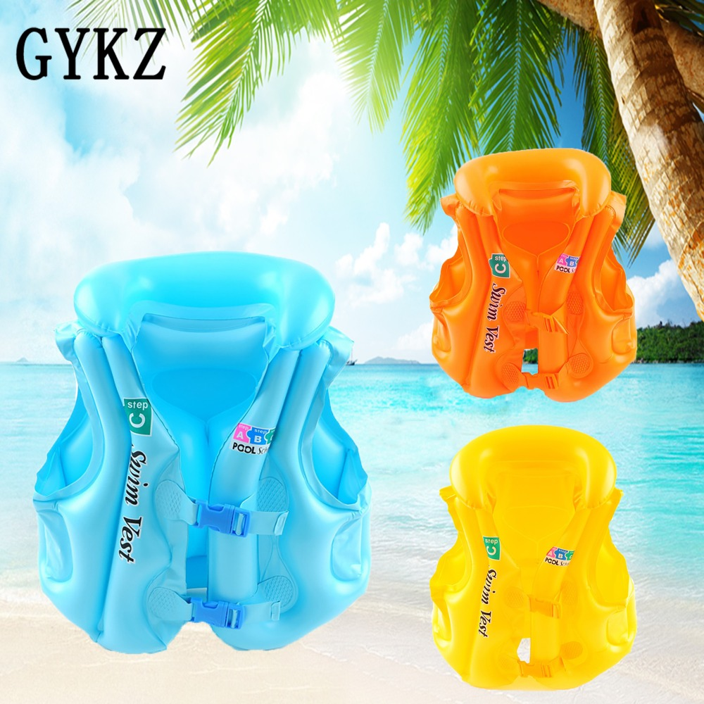 Event & Party Summer Children Inflatable Swimming Life Jacket Buoyancy Safety Jackets Boating Drifting Lifesaving Vest Life Waistcoat 3 Colors