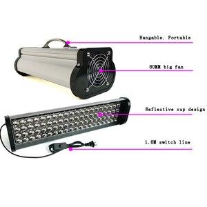 Image 2 - 400W 800W 1200W LED portable UV colloid curing lamp Print head inkjet photo printer curing 365nm 395nm 405nm cob UV led lamp