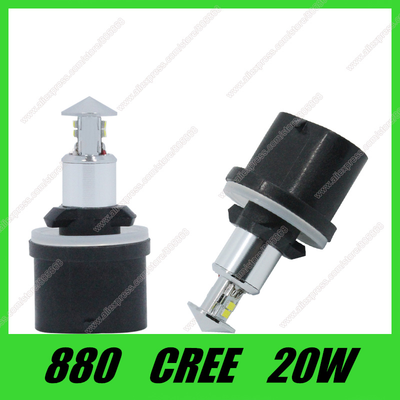 20w Smd Led 12v: Free Shipping 12V 880 Led Light 20w White SMD Cree Chip