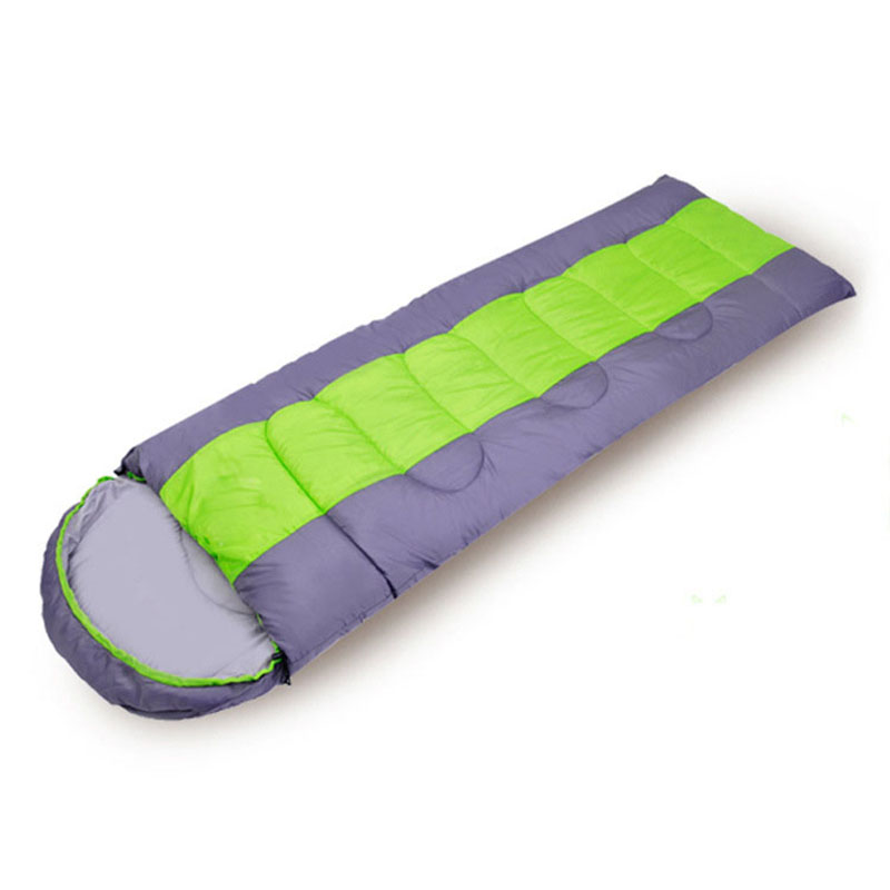 Spring Autumn Cotton Sleeping Bag for Outdoor Camping Adult Envelope Style Splicing Double Sleeping Bag Ultralight Camping Bed