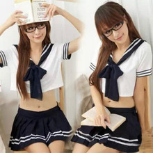 New Style Night Bar Stage Performance Uniform Student Skirt Set Japanese Sailor