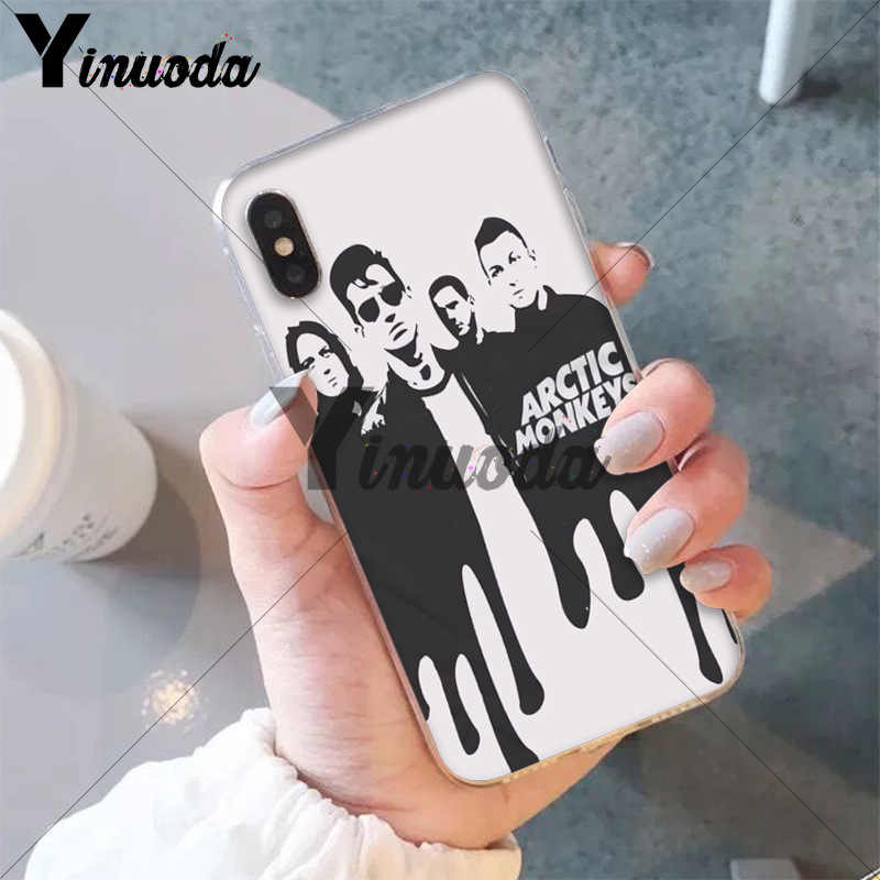 Yinuoda Arctic Monkeys Мягкий ТПУ чехол для iPhone X XS MAX, 6, 6 S, 7, 7 plus, 8, 8 Plus, 5 5S XR