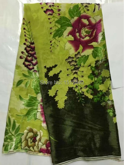 2e7fe8b96dcb3 (5yards/lot) NVL775 7, most popular silk Velvet fabric for dress burnout  fabric Nigerian velvet lace fabric good quality-in Fabric from Home &  Garden ...