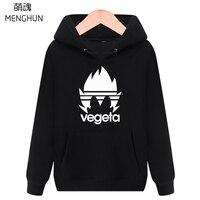 Dragon ball Z character Vegeta hoodies anime fans daily wear Winter Autumn keep warm costume Dragonball hoodies ac733