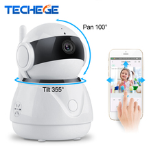Techege 1080P Wireless IP Camera Two Way Audio Wifi Smart Security 2MP CCTV Camera PTZ Camara Security Camera Remote View