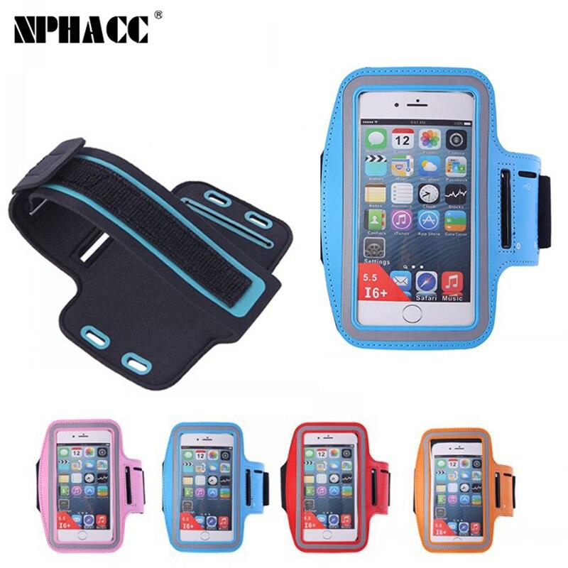 NPHACC Nueva caja Del Brazal del Deporte Para el iphone 6 6 S 7 Más 6 Plus 6 S P