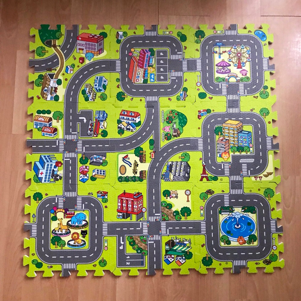 Baby Puzzle Mat Baby Carpet Developing Mat For Children Baby Toy Game Kids Rug Baby Toys Puzzles EVA Foam Play Rug DropShipping