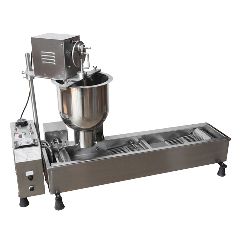 MARCHEF Mini Automatic Donut Fryer Machine_Mini Donut Machine_ Donut Making Machines
