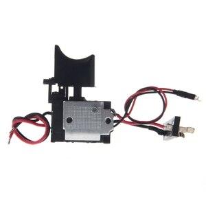 Image 2 - Электрическая дрель, пылезащитный контроль скорости, пусковой переключатель, переключатель постоянного тока 7,2 24 В, переключатель беспроводной дрели