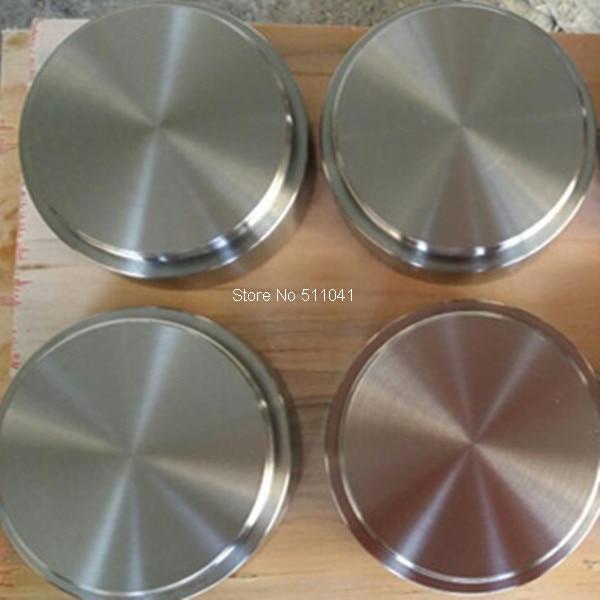 Titanium цели, сплава ti-al мишенью для вакуум PVD, 80 мм D x 40 мм l, покрытие из розового-золотая, розово-красный, 5 шт., оптовая продажа, Бесплатная доста...