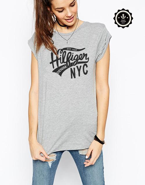 Mirada del diseñador Sudaderas estilo Jones superior denim diseño Mujeres camiseta de Alta calidad de La Vendimia GRÁFICO Camisetas ropa Nueva Marca West