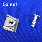 x5 Clips For Rover 75 & MG ZT Engine Undertray Clips Underbody Fastener 8D0805960