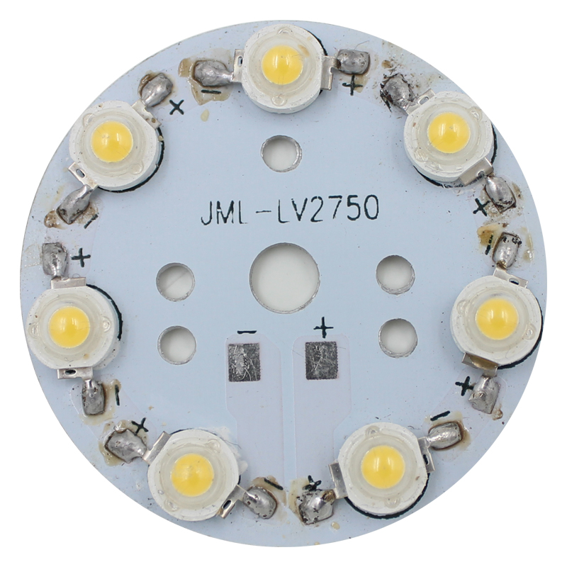 free shipping 30pcs 7 X 1W LED Star HIGH POWER 50mm High Power LED Aluminum Base Plate radiator board