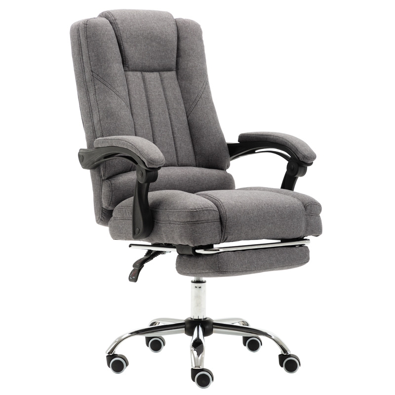 Office Chair Silla Oficina Simple Home Lifting Swivel Cloth Fabric Computer Chair With Massage Function Gaming Chair