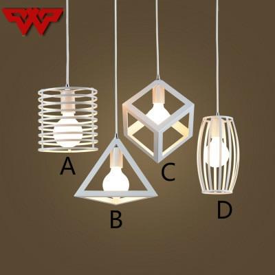 Hot Sale Modern Minimalist Creative Personality Chandelier Wrought Iron Restaurant Bar Leisure Sound Industrial Wind Lamps