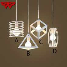 Hot Sale Modern minimalist creative personality chandelier wrought iron restaurant bar leisure sound industrial wind lamps