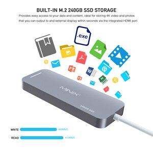 Image 3 - MINIX NEO C S2 Hub USB USB C SSD multipuerto almacenamiento tipo C Hub HDMI USB 3,0 120G/240G transferencias de alta velocidad todo en uno para MacBook