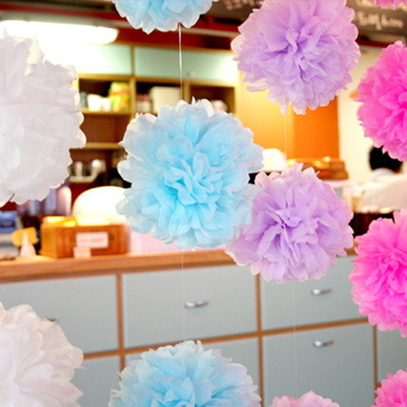 200pcs 14inch35cm tissue paper flowers pom poms balls wedding 200pcs 14inch35cm tissue paper flowers pom poms balls wedding decoration handmade garden party supply in party backdrops from home garden on mightylinksfo