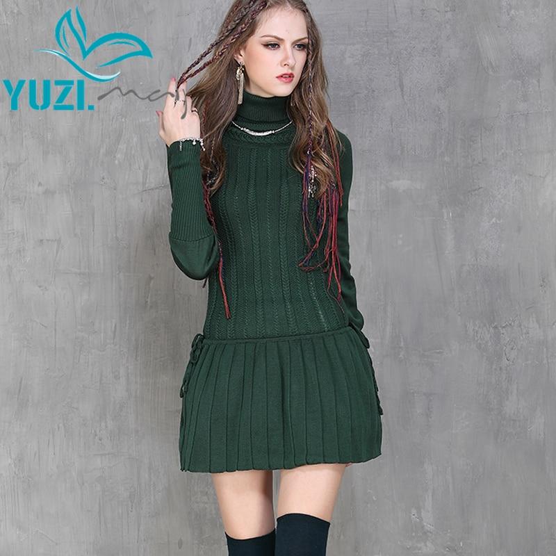 Long Sleeve Casual Winter Dresses Women