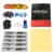 Completar Arranque Kit de Tatuaje para Principiantes 2 Pro Machine Guns 28 Tintas de Alimentación Aguja Grips Consejos TK204-25US