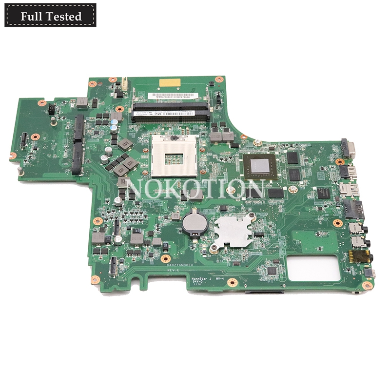 NOKOTION MBRJ206001 MB RJ206 001 for font b acer b font Aspire 8951 8951G laptop motherboard
