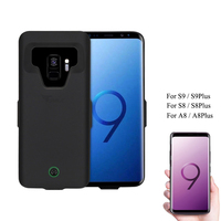 7000mAh For Samsung S8 2018 A8 Battery Case Portable Charging Case for Galaxy S9 Plus + Protective Extended Battery Cover cases