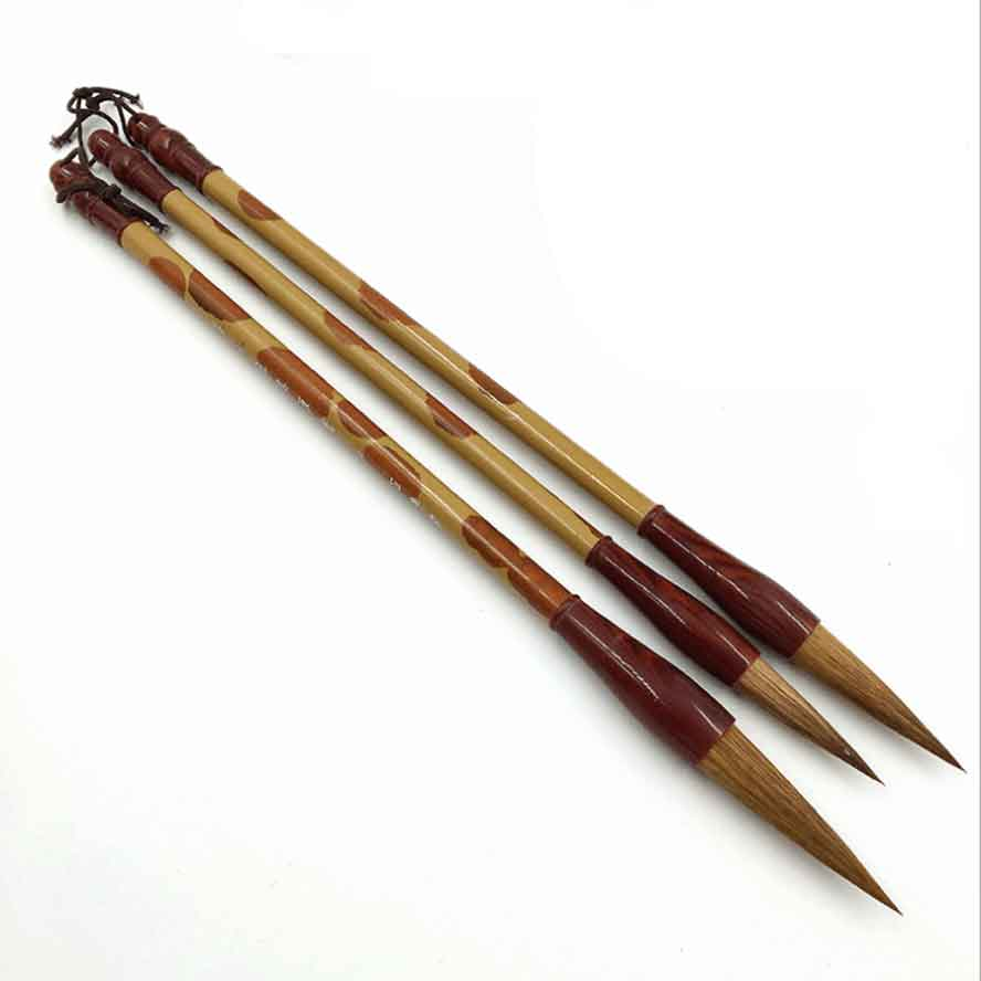 3 pieces/pack Chinese Calligraphy Brushes Pen Weasel Hair Paint Brush for Painting3 pieces/pack Chinese Calligraphy Brushes Pen Weasel Hair Paint Brush for Painting