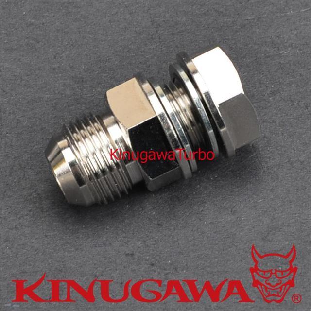 Kinugawa DIY Universal Turbo Cárter de Óleo de Retorno/Drain Plug Adaptador de Montagem para 10AN