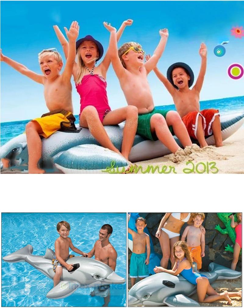 Gyermekek Állati medence úszik felfújható állat úszó gyerekek - Vízi sportok - Fénykép 3