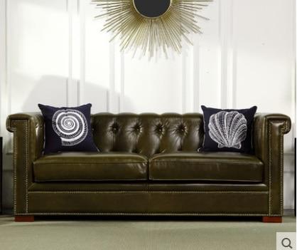 Verschiffen graded kuh echte echtem leder sofa schnitts wohnzimmer ...
