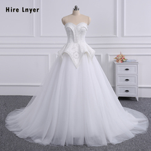 HIRE LNYER 2019 100% A-line Wedding Dresses With